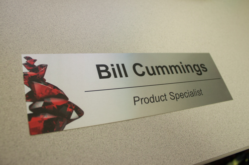 Custom Designed Office Nameplates