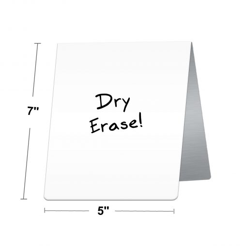 dry erase table tent sign