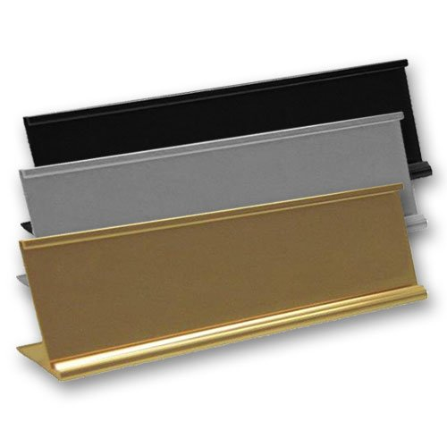 Desktop Office Nameplate Holders for Desks - Nap-Nameplates.com