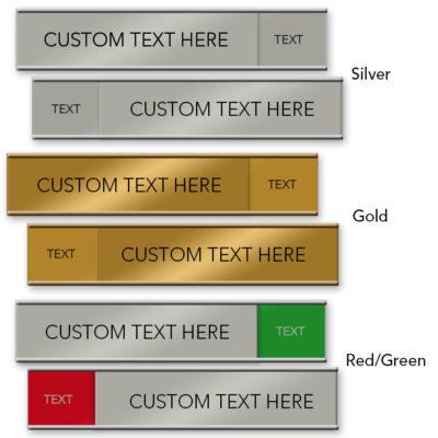 slider nameplates
