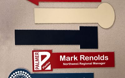 Custom Shaped Office Nameplates