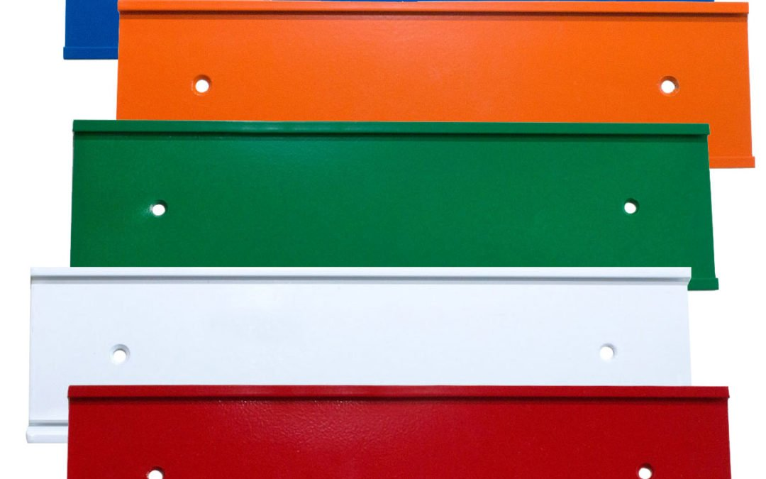 Brighten Up the Office with Colored Nameplate Holders