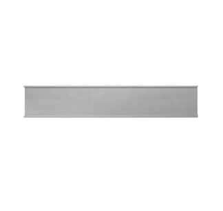 metal nameplate holder 6x1