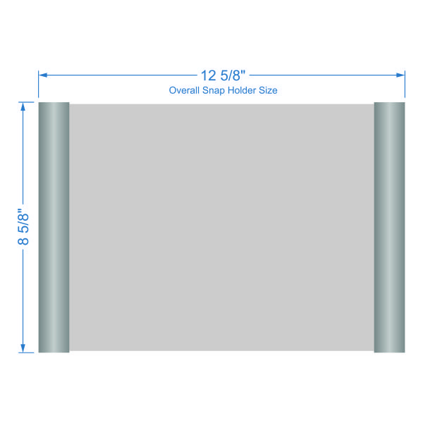 Cubicle Snap Name Plate Frames For Offices And More