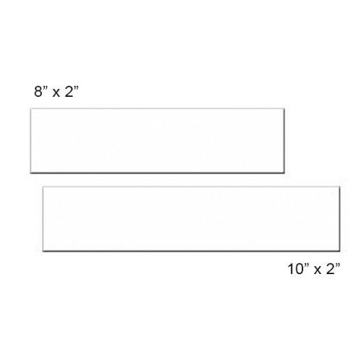blank sublimation nameplates