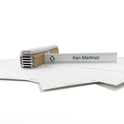 paper name plate kit